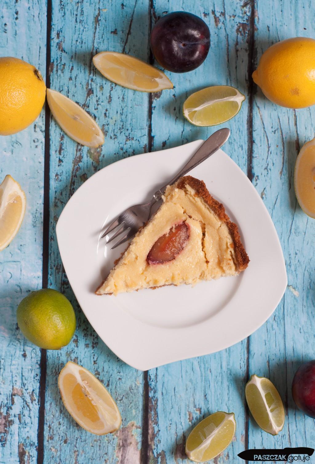 Tarta cytrynowa z tequilą