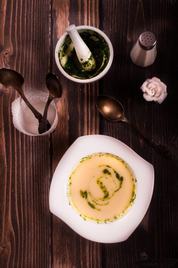 Zupa z pietruszki i selera