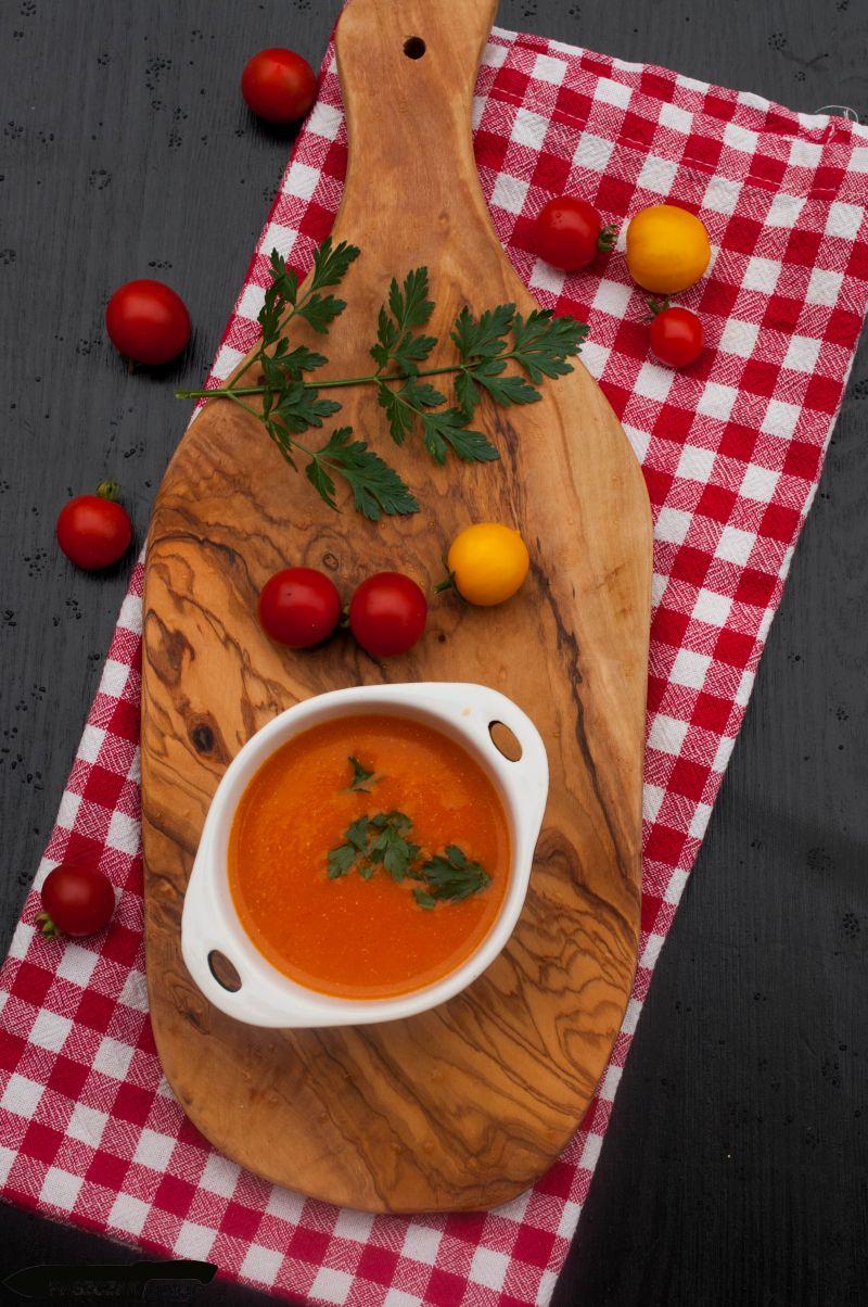 Krem pomidorowy z pomarańczą