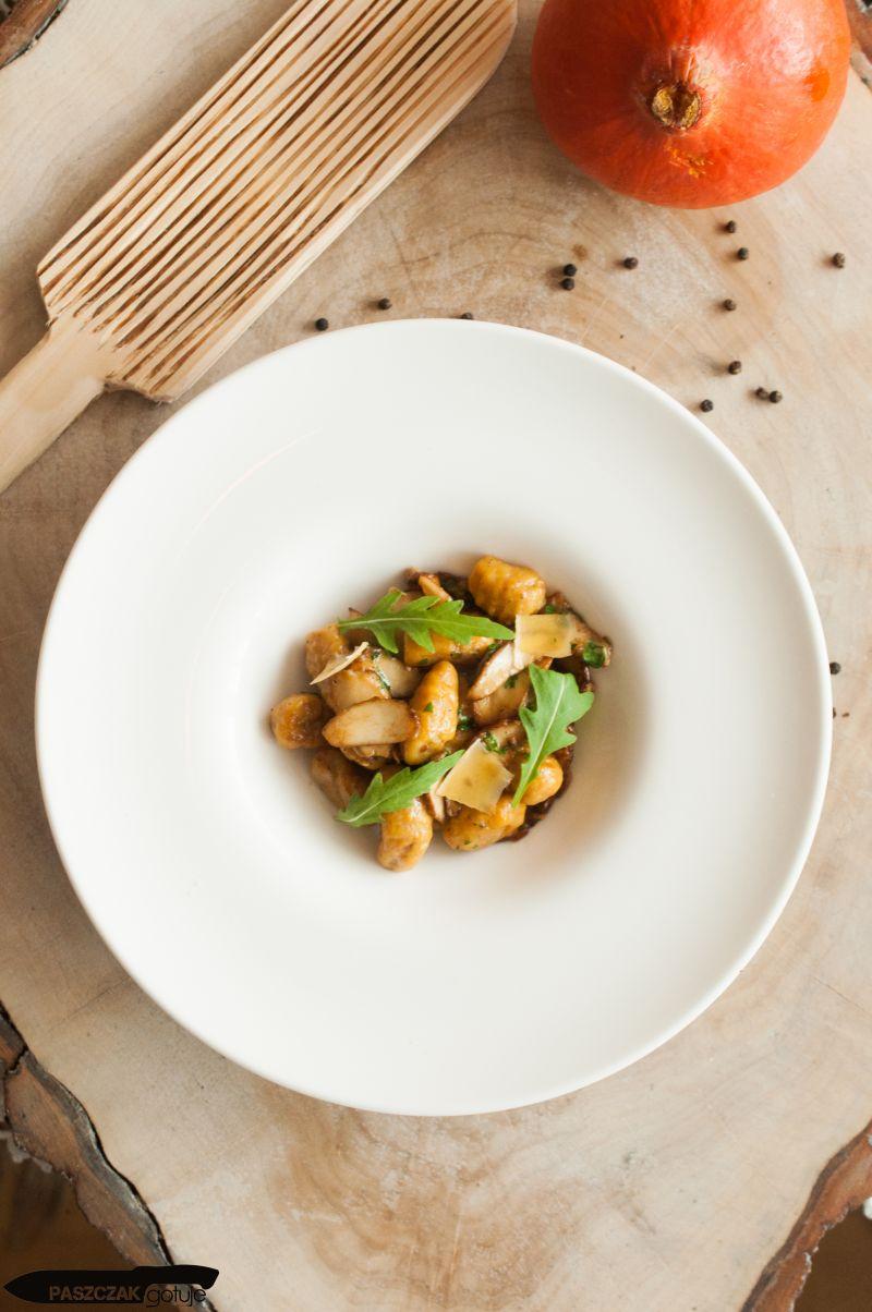 Dyniowe gnocchi z grzybami